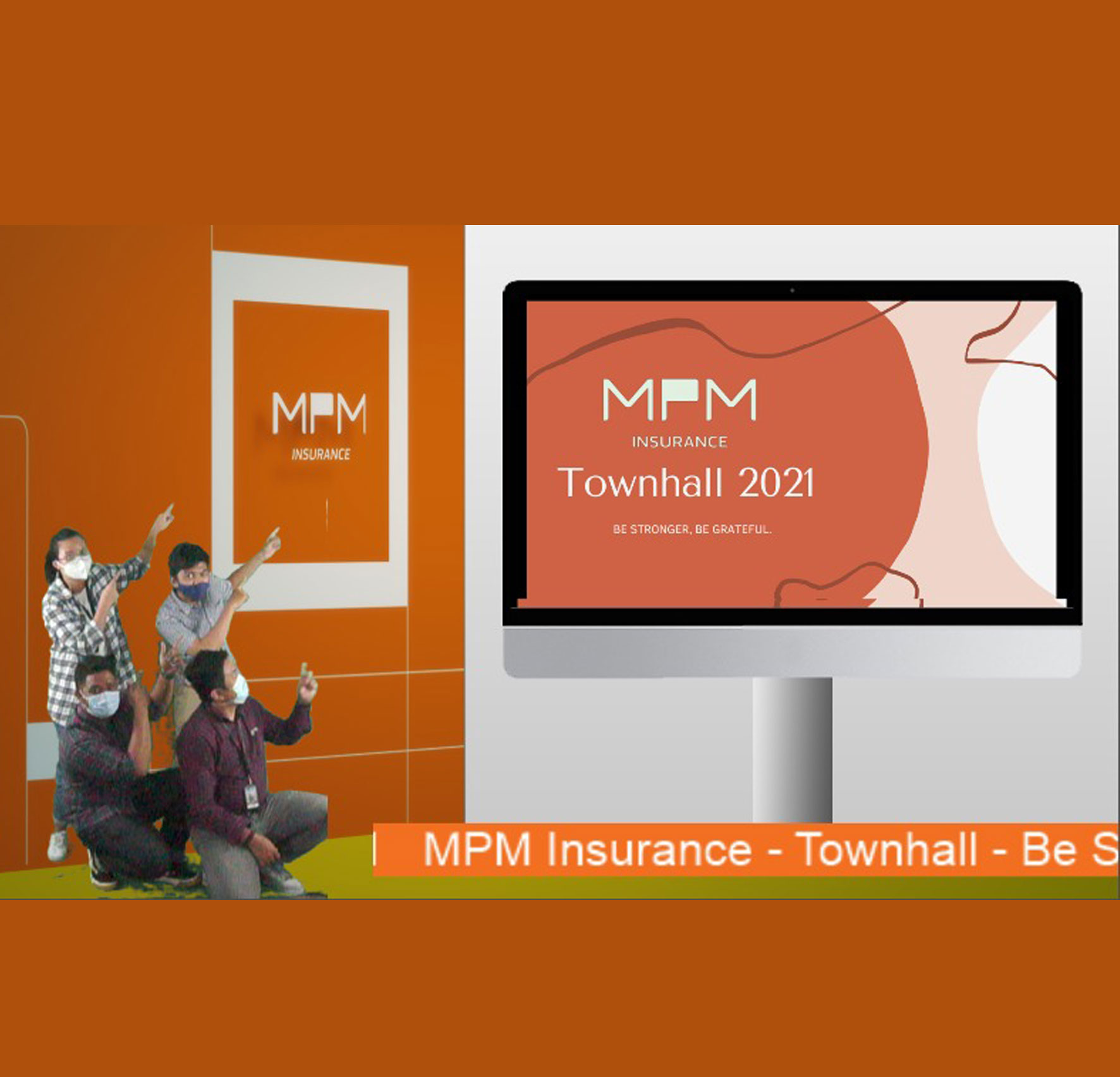 MPMInsurance Gelar Virtual Townhall Untuk Perkuat Sinergi dan Kerja Sama